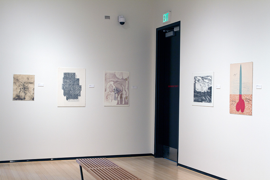 We are fortunate to have works by a wide range of artists including emerging and well established artists such as robert rauschenberg sol le witt