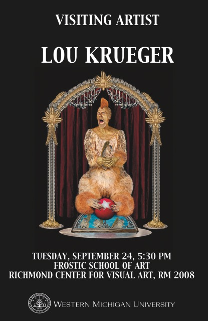 visiting artist  lou krueger
