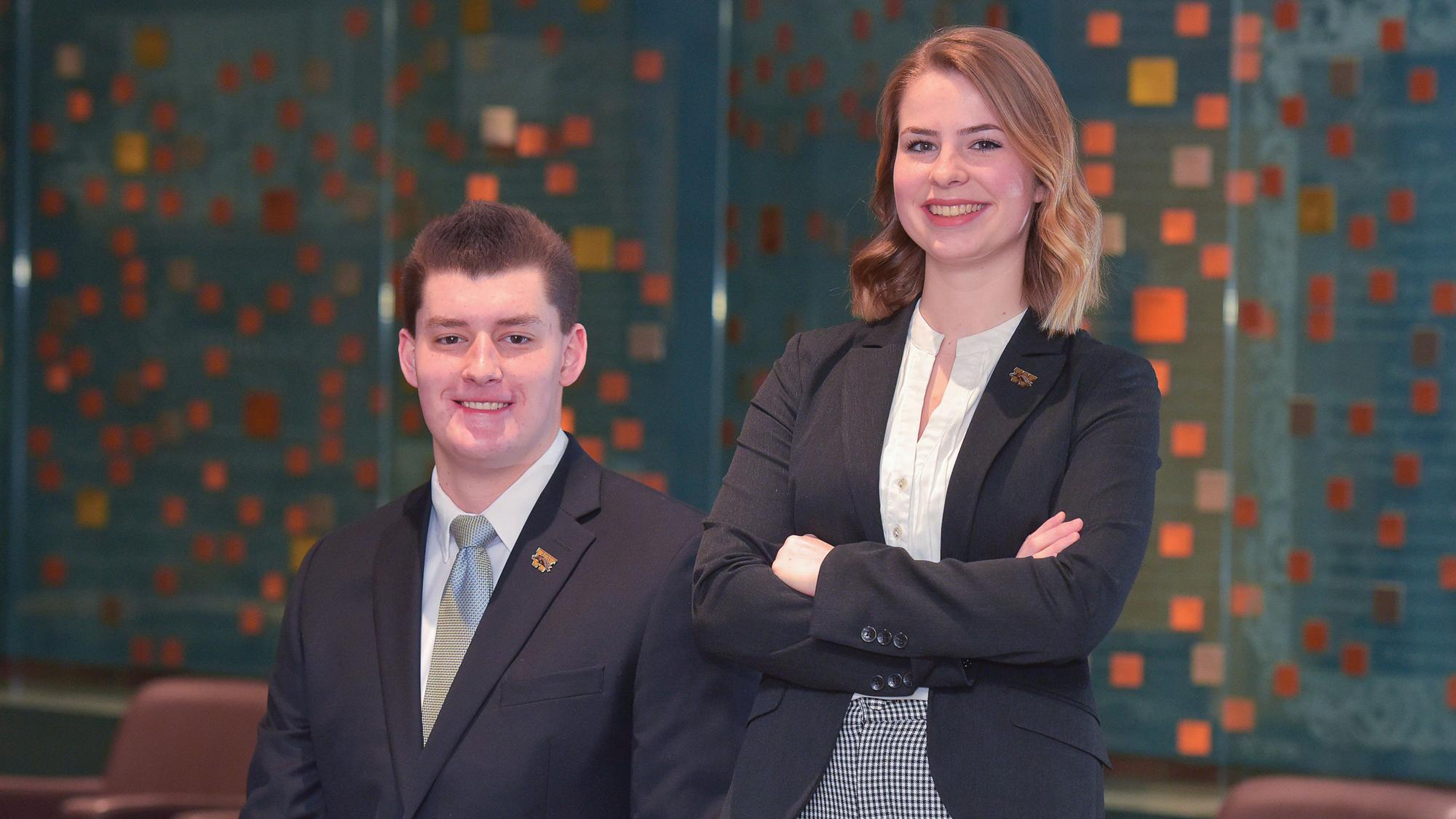 Two WMU business students among six nationwide to win