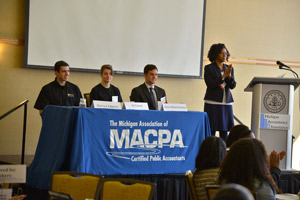 Photo of MACPA student panel