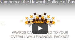 Numbers at the Haworth College of Business video