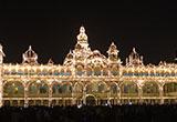 Large decorative building in India