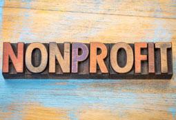 Nonprofit Word Graphic