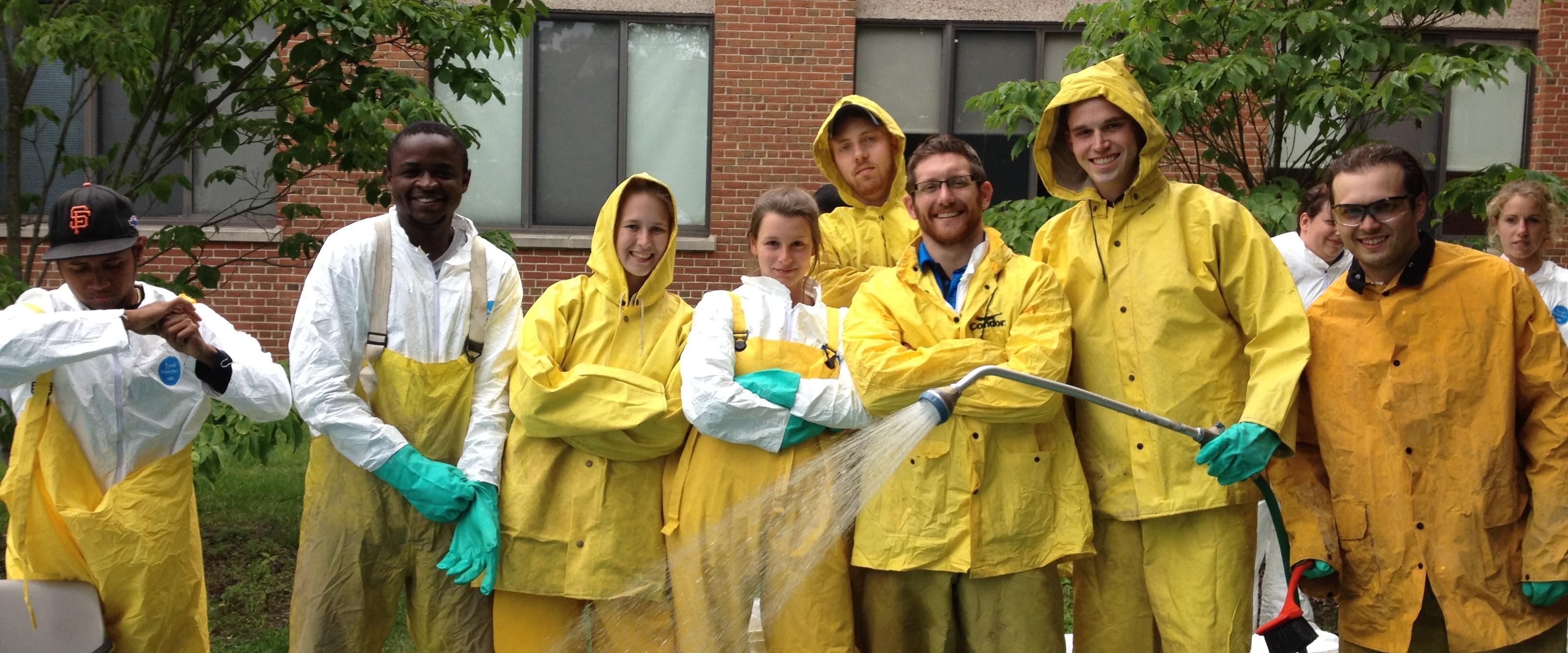 Photo of Hydrogeology students