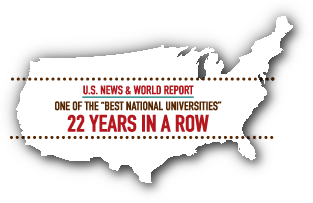 One of the best national universities 22 years in a row