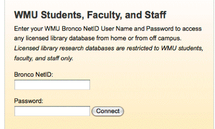 If You Cannot Log On Please Contact The Wmu Computer Help Desk Http Www Wmich Edu Oit Helpdesk Index Html Or Call 269 387 4357
