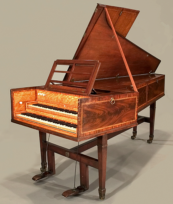 Harpsichord: A keyboard instrument that produces its sound by a system ...