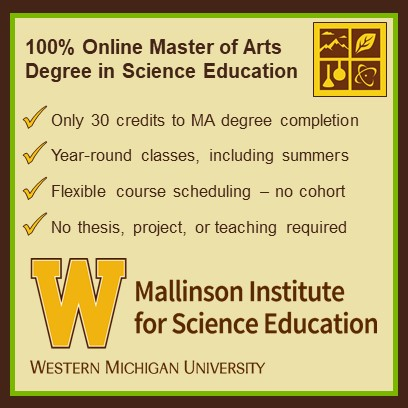 Master Of Arts In Science Education Mallinson Institute