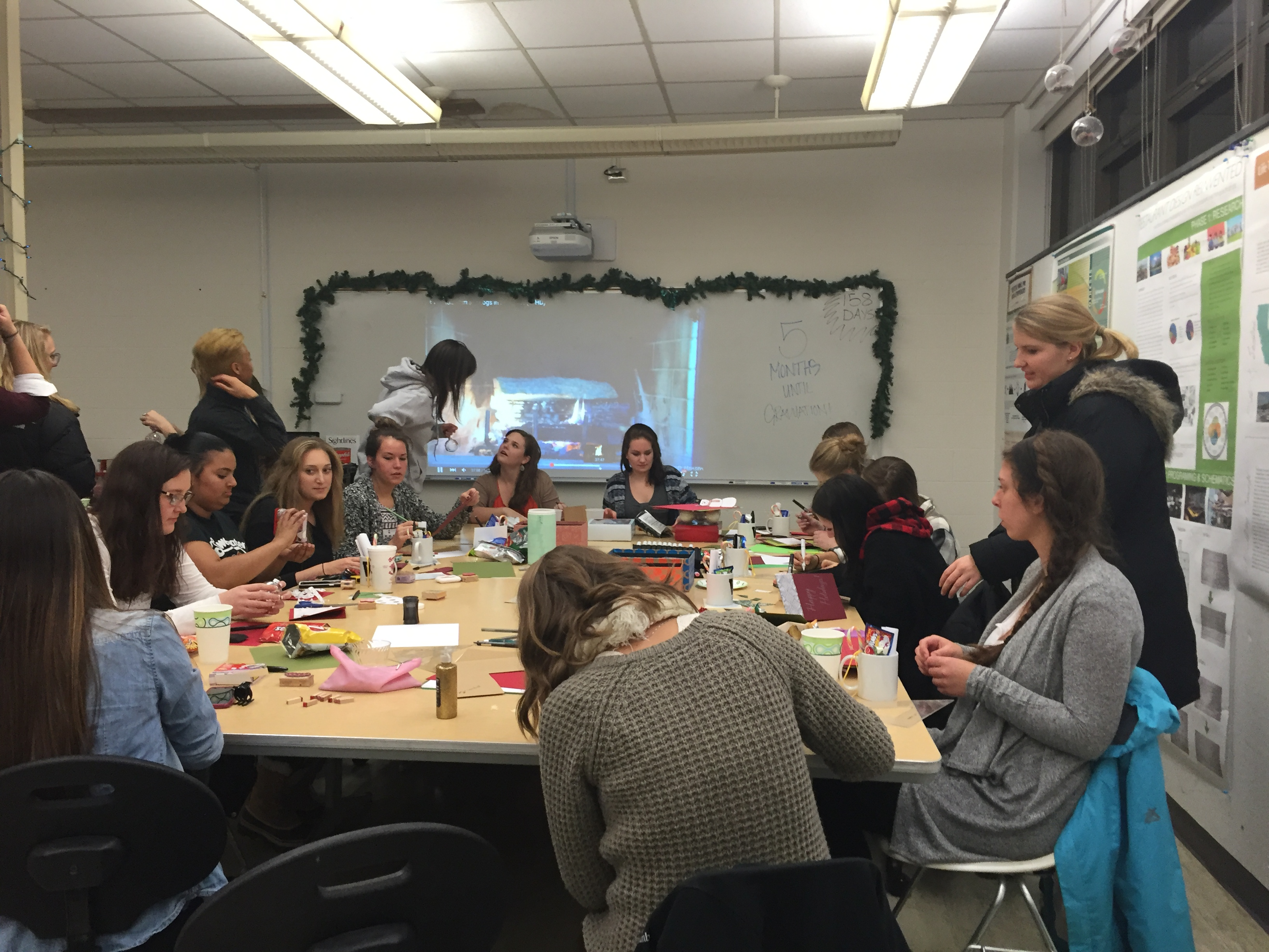 Interior Design Student Organization Sends Armed Forces Holiday Greetings