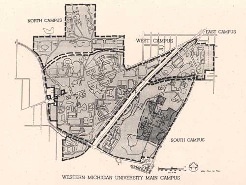 Campus planning history facilities management western for Wmich edu