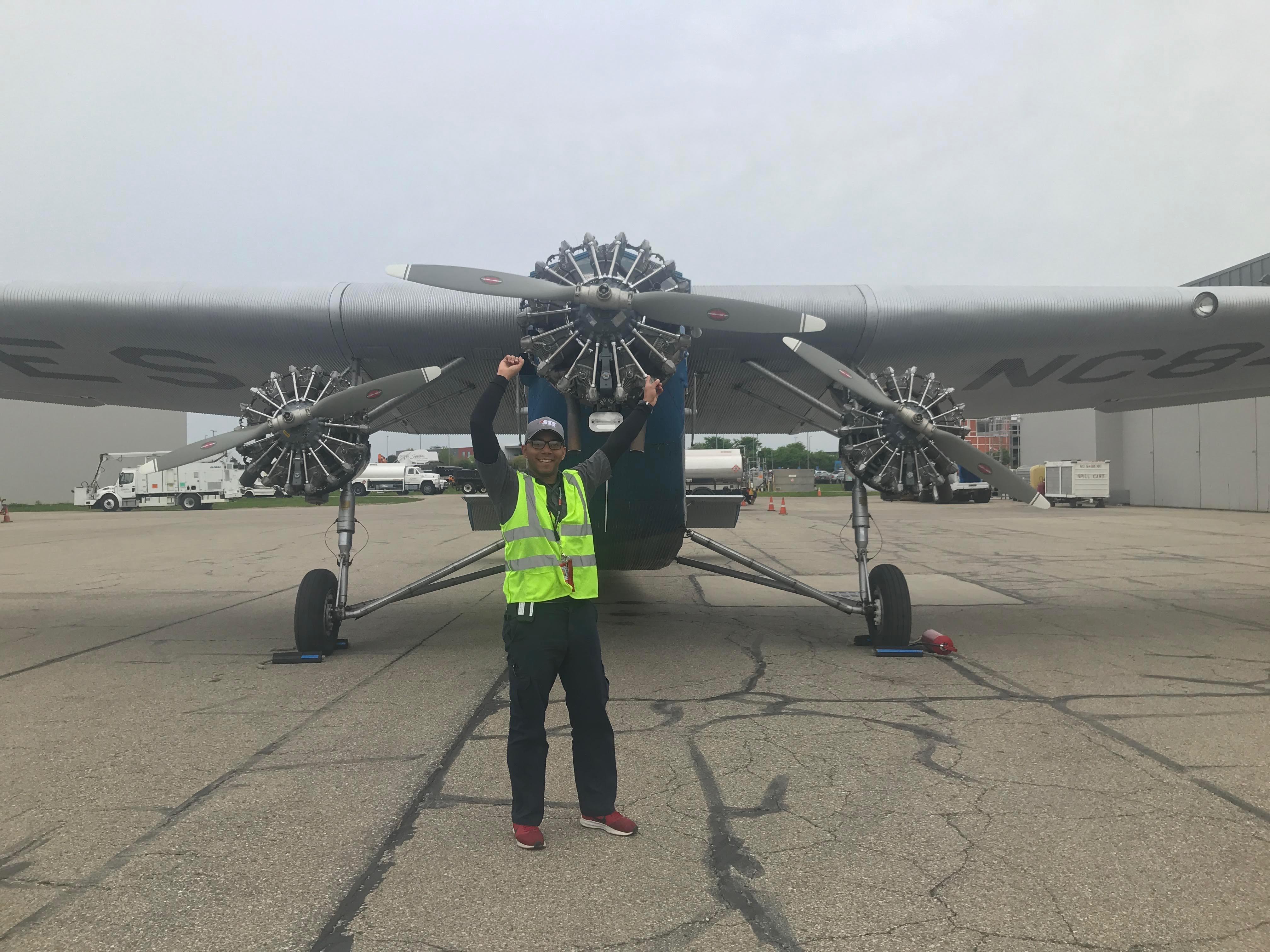 WMU Aviation Technical Operations Alumni Miguel Del Rosario