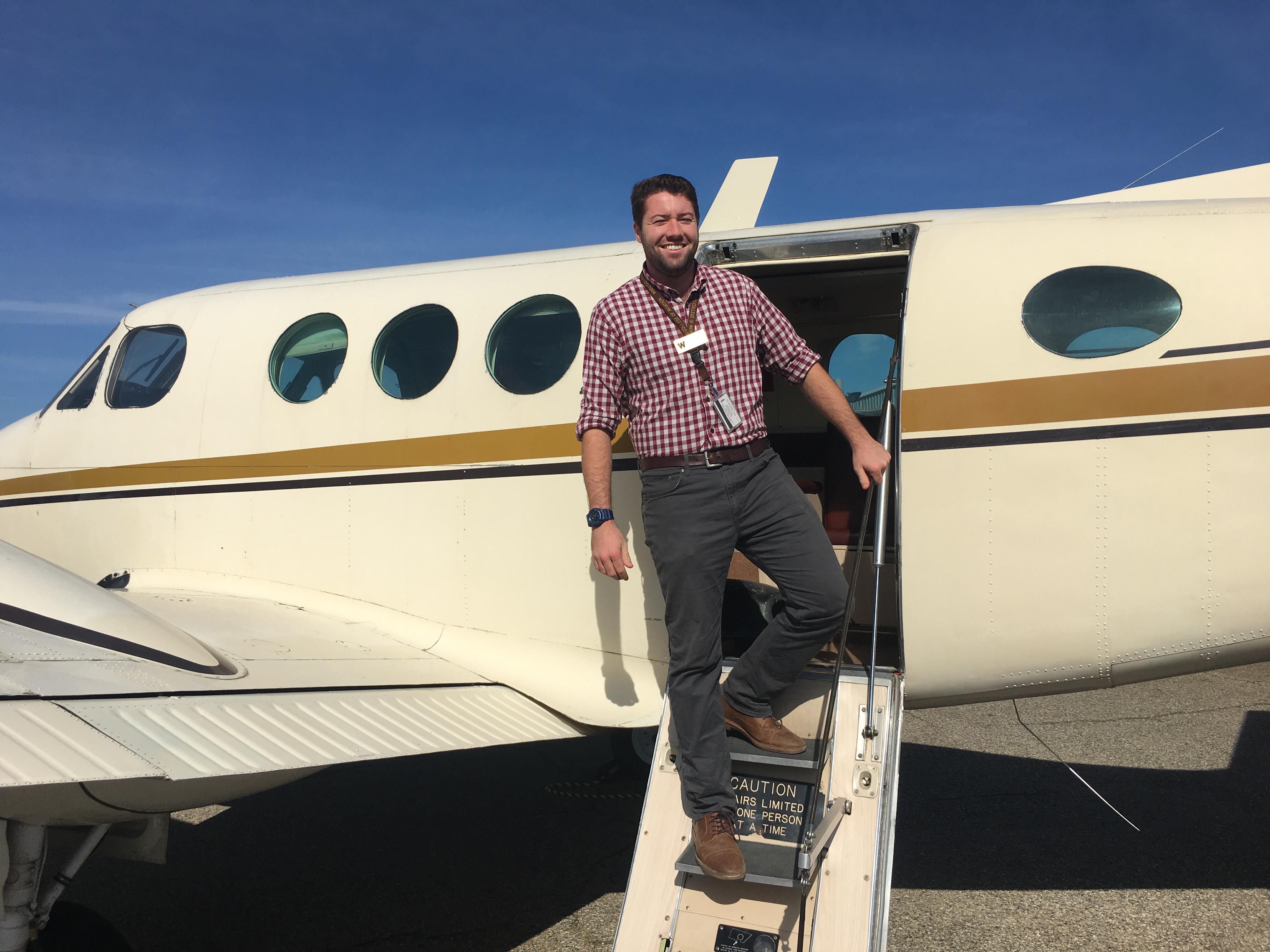Tom Souder WMU Aviation Technical Operations Alumni
