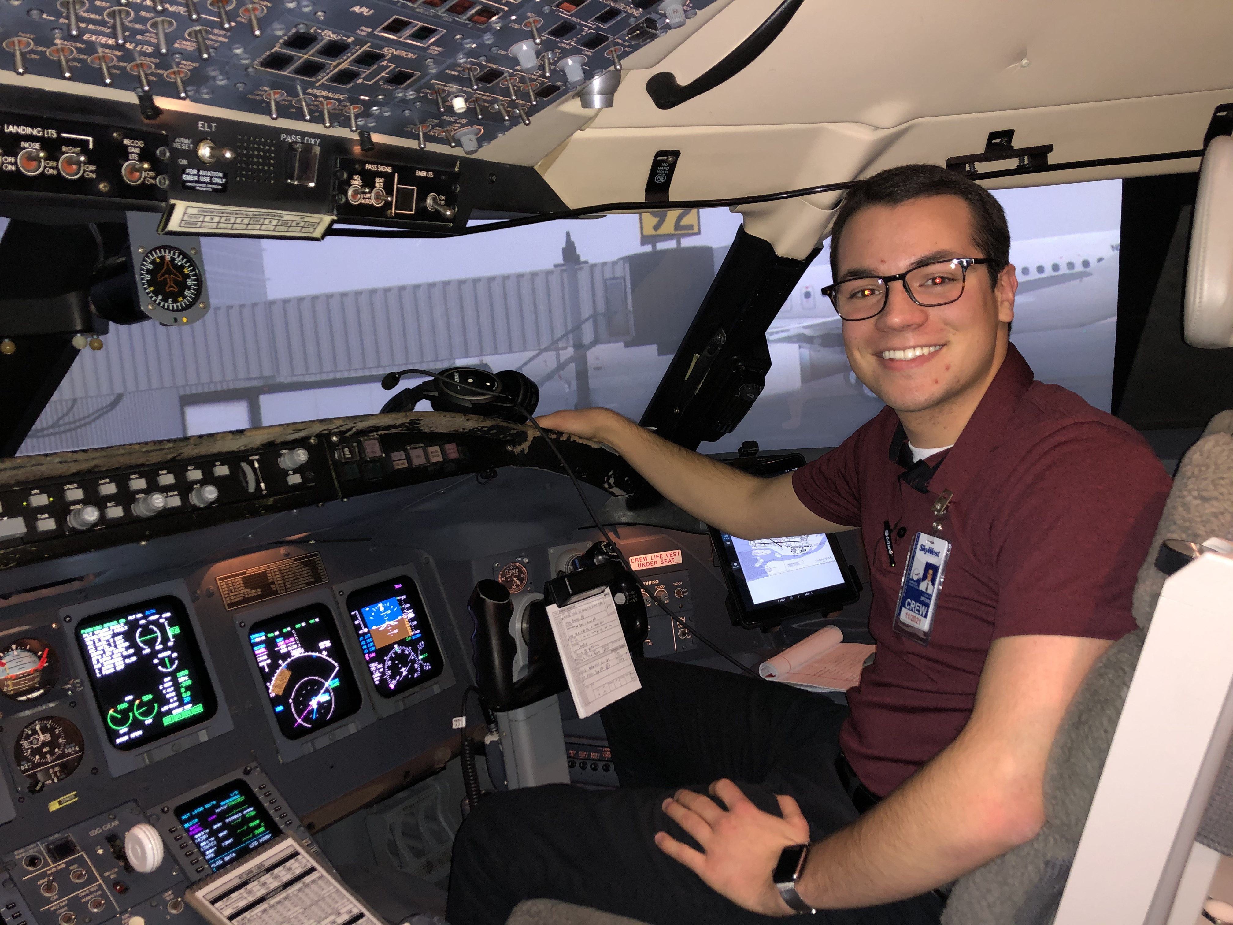 WMU Aviation Flight Science Alumni Logan Brown