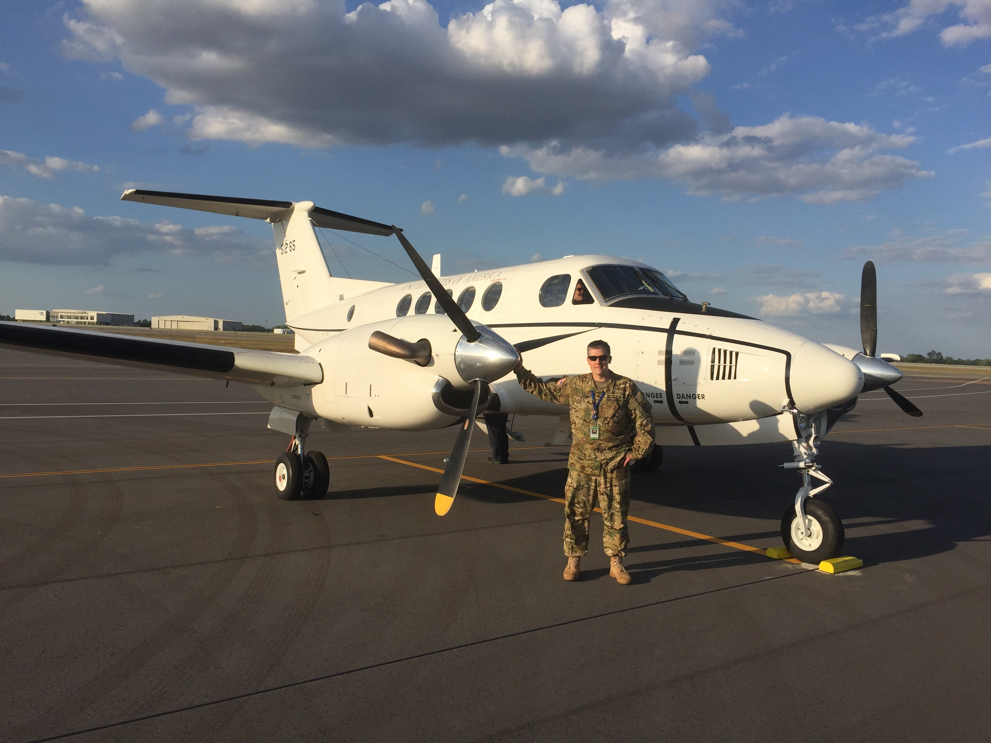 WMU Aviation Technical Operations Alumni David Fish, Army Warrant Officer