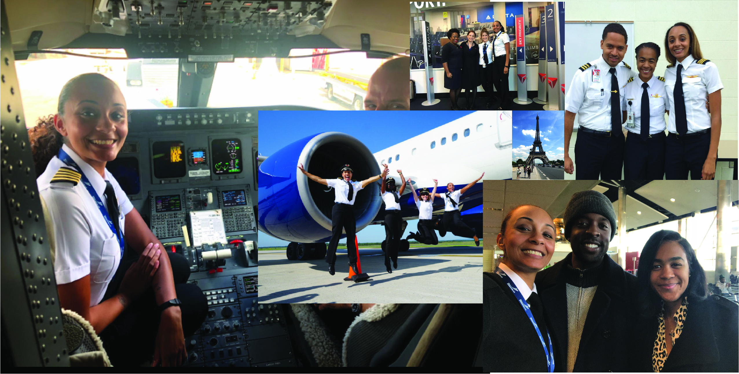 WMU Aviation Alumnu and Endeavor Airlines Captain, Alexis Brown