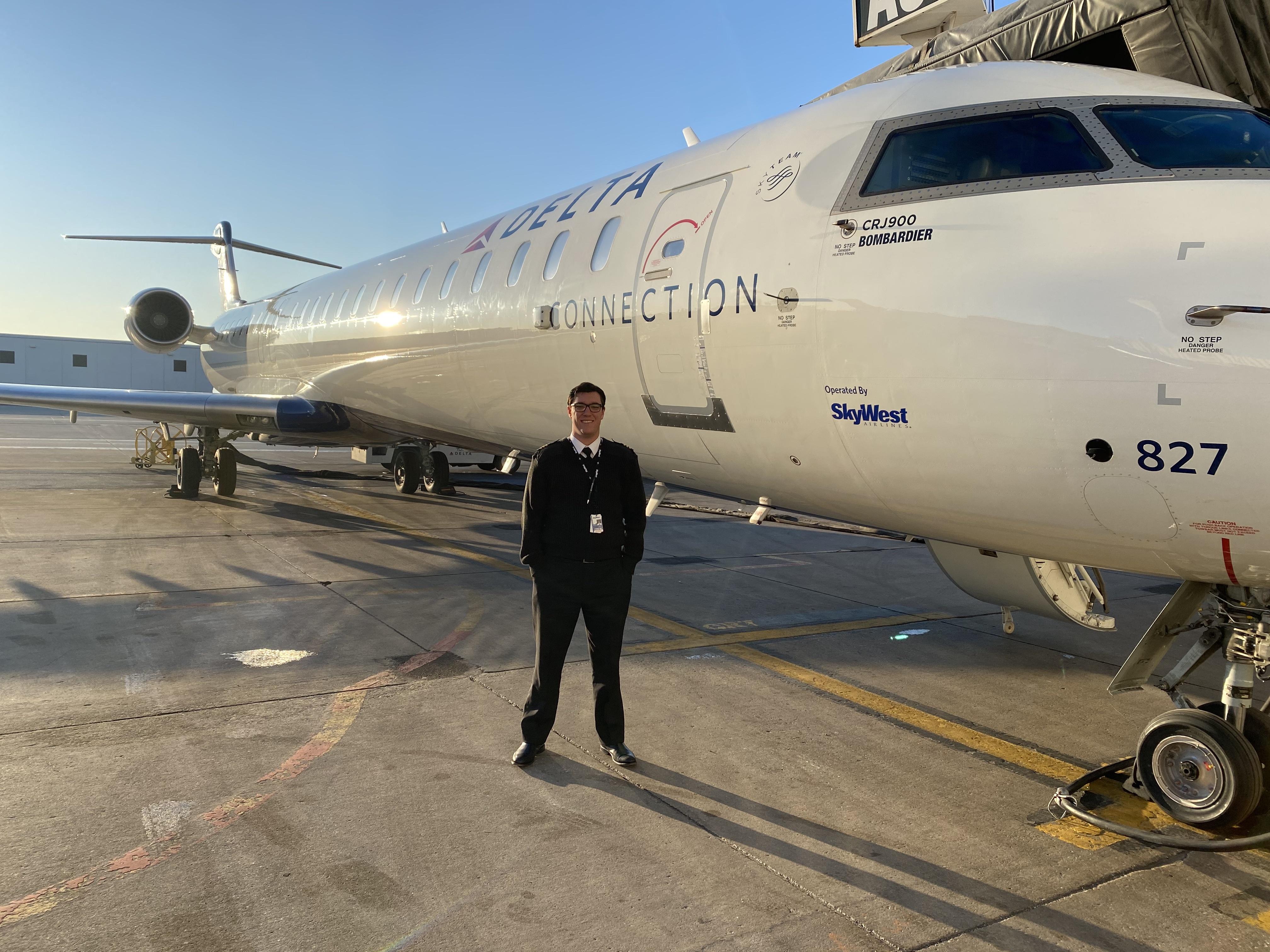 WMU Aviation Flight Science Alumni Ryan Sewell