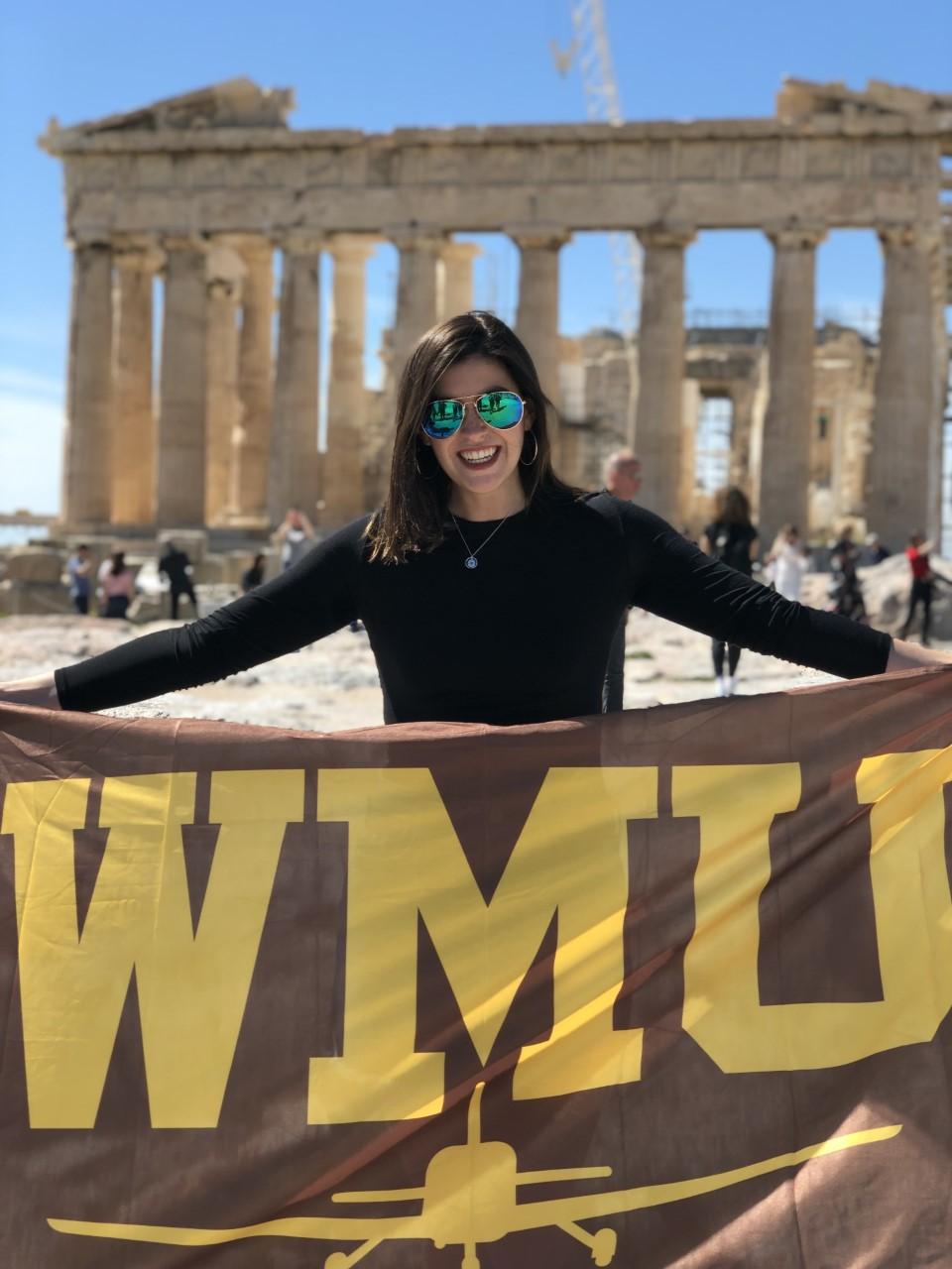 WMU Aviation Flight Science Student Brooke Semler