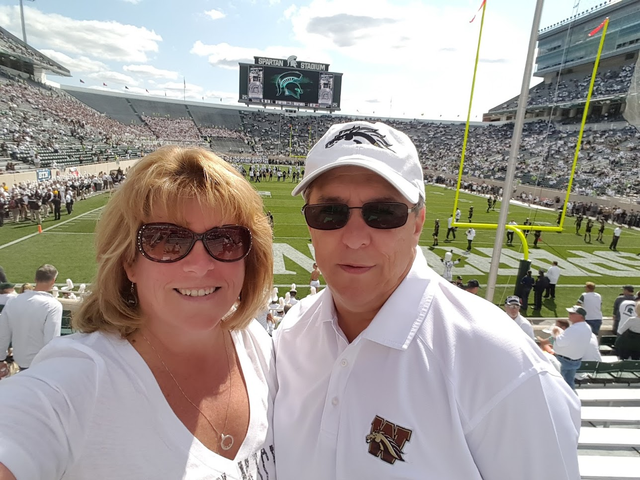 WMU Aviation Technical Operations Faculty Dr. Gail Rouscher and Husband