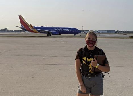 WMU Aviation Flight and Management Student Amanda Charlton