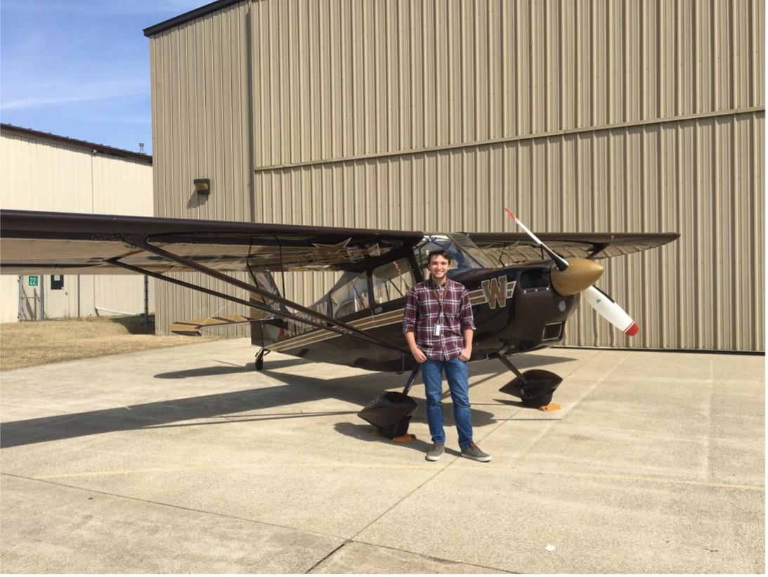 WMU Aviation Flight and Management Student Shane Rembold