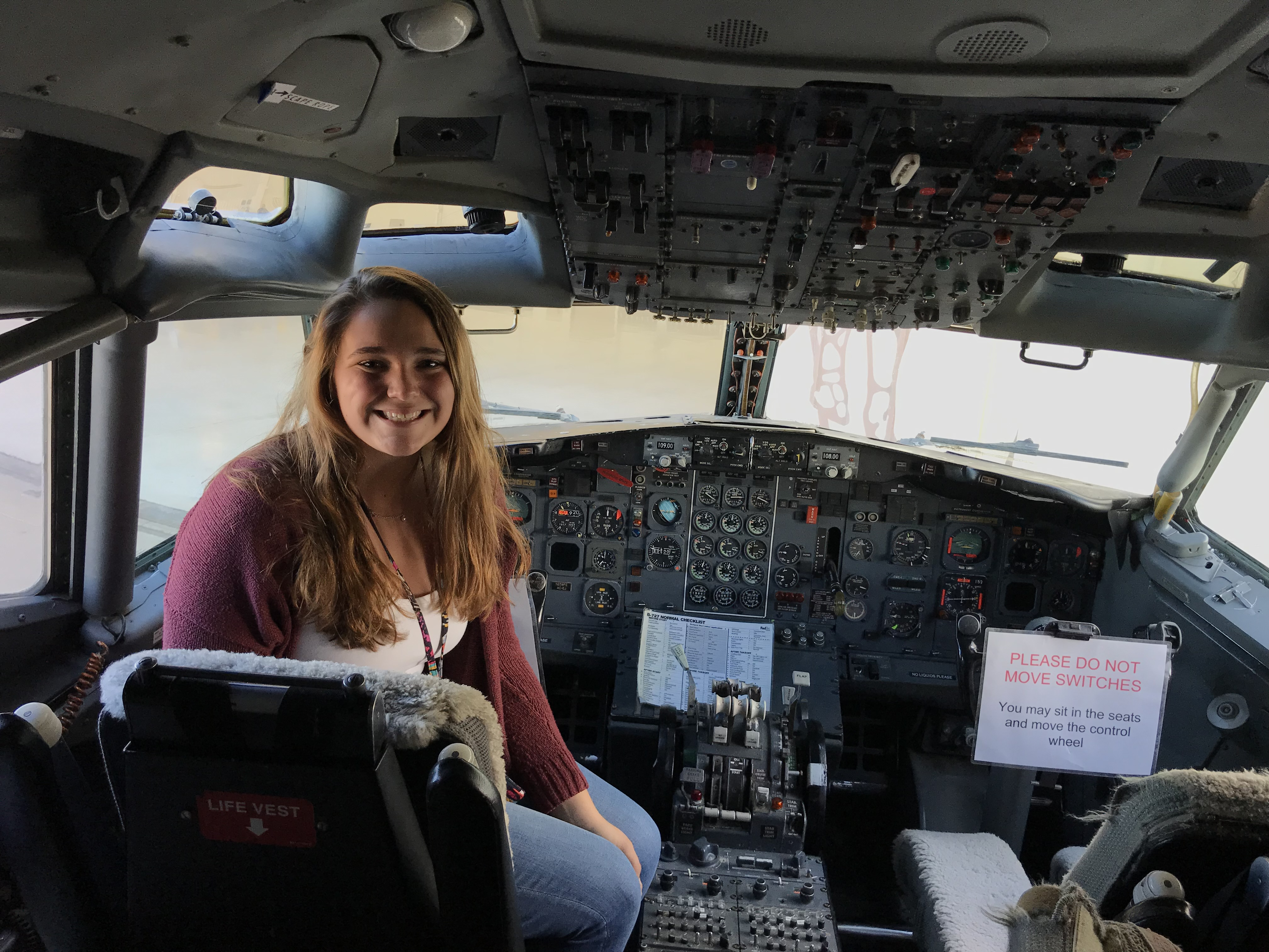WMU College of Aviation Flight and Management Student Alysse Matteson