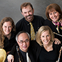 Photo of the Western Wind Quintet.