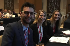 photo of ISM students at Indirect 2018 conference