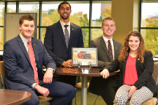 photo of ISM case competition team