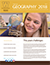 While, gold and brown PowerPoint template with a student photo