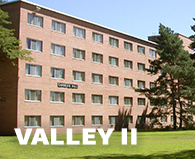 Valley two residence halls