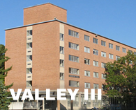 Valley three residence halls