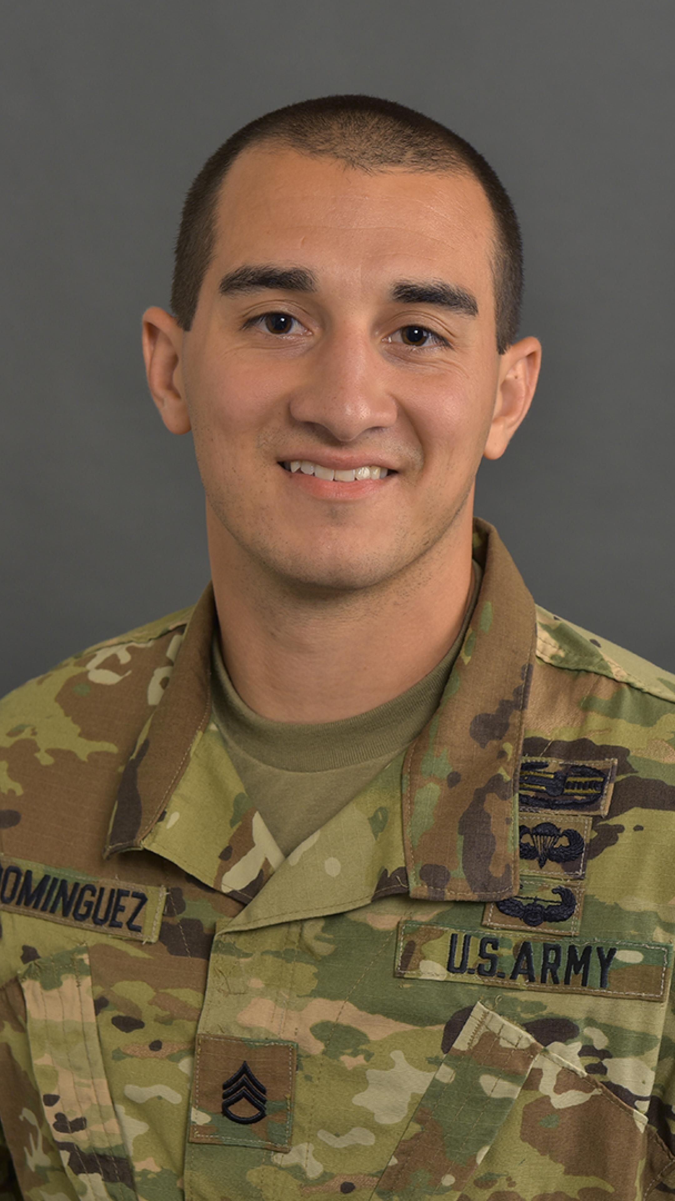 Staff Sergeant Carlos Dominguez   Military Science and