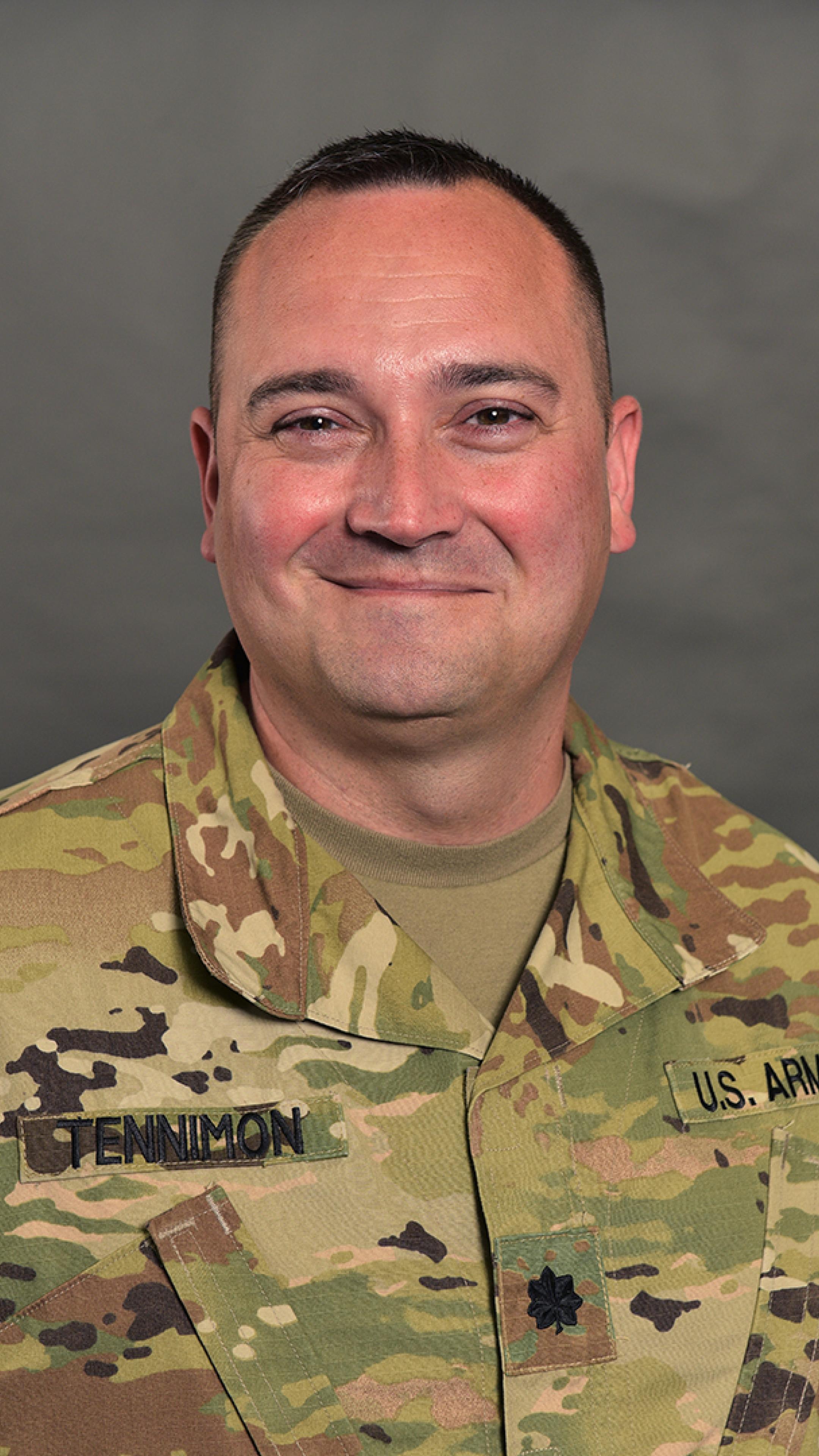 lieutenant colonel brandon tennimon