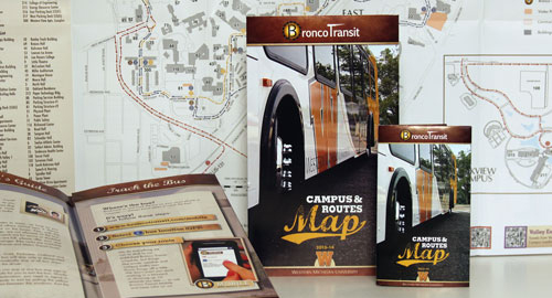 Photo of Bronco Transit maps