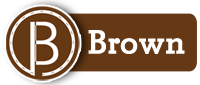 Brown route graphic