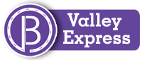 Valley Express route graphic