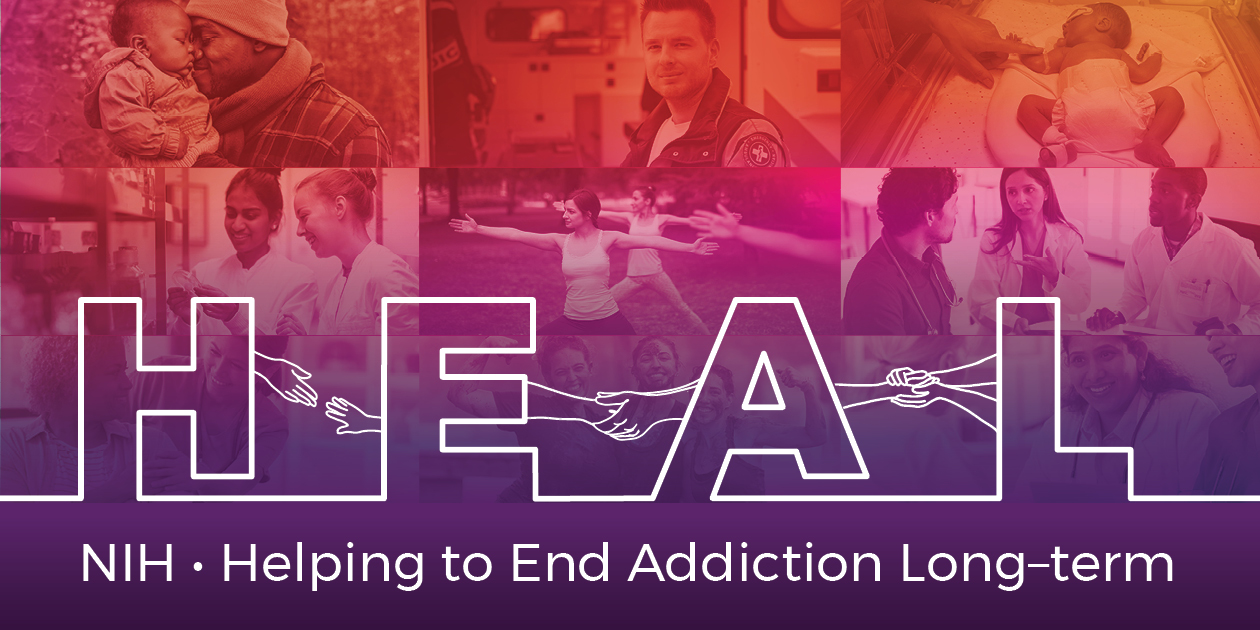 NIH - Helping to End Addiction Long-term logo