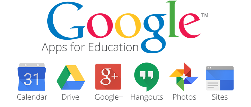 Risultati immagini per google apps for education