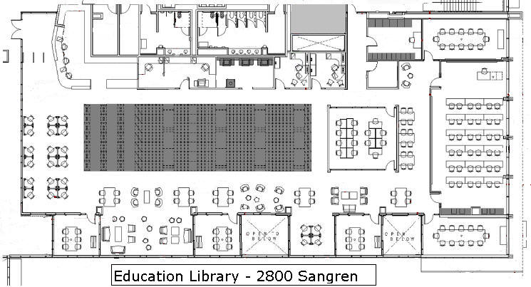 Fabulous Floor Plans University Libraries Western Michigan University Home Interior And Landscaping Mentranervesignezvosmurscom