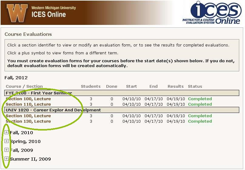 Using Your Data Assessment and Undergraduate Studies – Lecture Evaluation Form