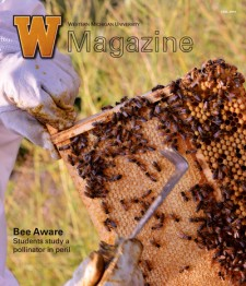 Photo of cover of the fall 2014 issue of the WMU Magazine.