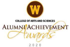WMU logo College of Arts and Sciences Alumni Achievement Awards 2020 Logo
