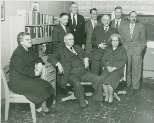 History faculty from the 1950s