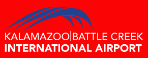 Logo: Kalamazoo/Bettle Creek International Airport.