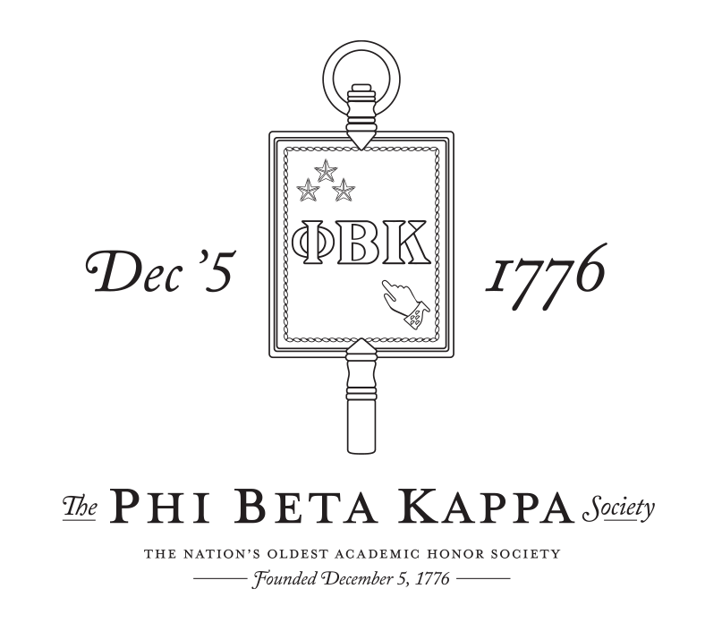 Phi Beta Kappa Key: The nation's oldest academic honor society, founded December 5, 1776