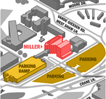 parking map illustration
