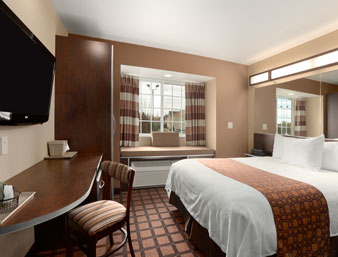 hotel room interior photo