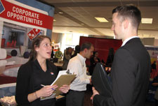 Photo of career networking event