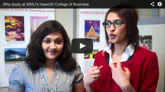 Video clip from WMU Global Business Students Association.