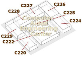 cut-away of computer center